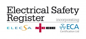 Electrical Safety Register approved contractor accreditation